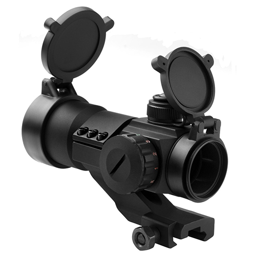 NcStar Tactical Red Green Blue Dot Sight with Cantilever Mount