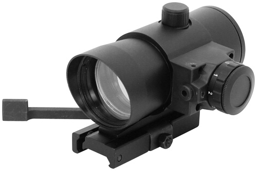NcStar 40mm Red Dot Scope + Laser And Quick Mount