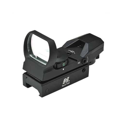 NcStar Reflex Sight w/ 4 Red+Green Reticle Patterns / D4RGB