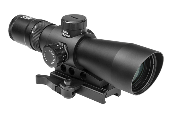 NcStar 3-9x42 Gen-2 Mark III Tactical illuminated QD Rifle Scope