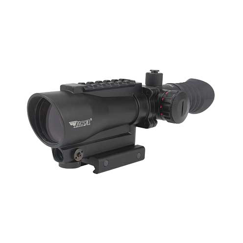 BSA Tactical illuminated Rifle Scope w/ Integral Red Laser