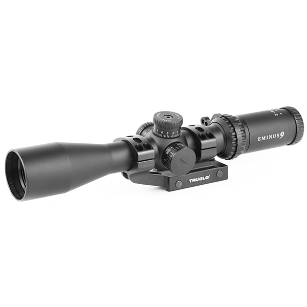 TRUGLO EMINUS 3-9X40 IR TacPlex Rifle Scope With APTUS-M1 Mount