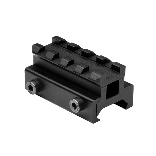 "Weaver Style Short 3/4"" Riser Scope Mount Rail"