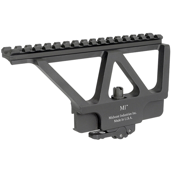 Midwest Industries AK47 Tactical Side Scope Mount Rail System