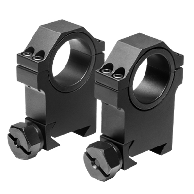 Extra-Tall 30mm / 1 inch Tactical Scope Rings - Click Image to Close