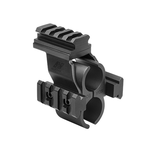 NcStar Shotgun Barrel Rail Mount For Mossberg 500 590 / MSHBDMOS
