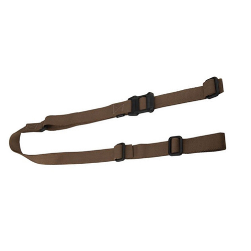 "MAGPUL MS1 Coyote Brown Tactical Rifle Sling Fits 1-1/4"" Swivels"