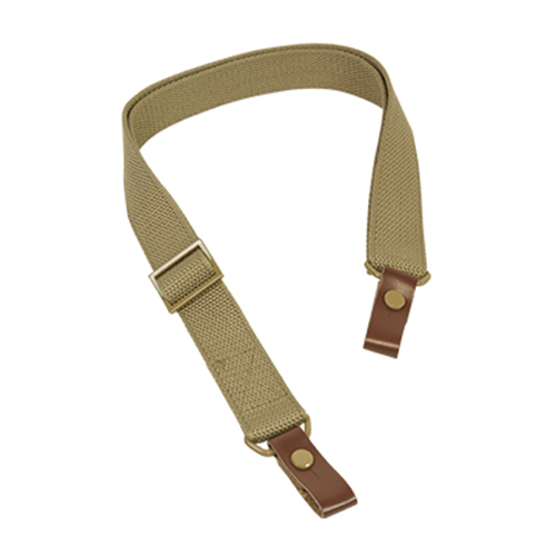 AK47 AK74 AKM AKS SKS Saiga Military Style Tan Color Rifle Sling