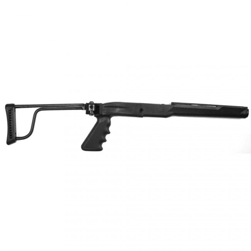 Ruger Mini-14/30 Solid Steel Blued Folding Stock