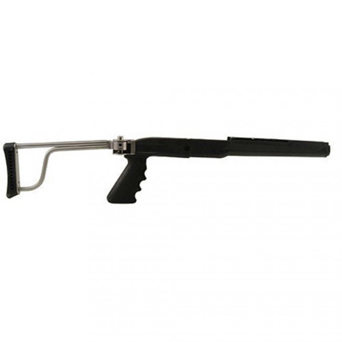 Ruger Mini-14/30 Solid Steel Stainless Folding Stock