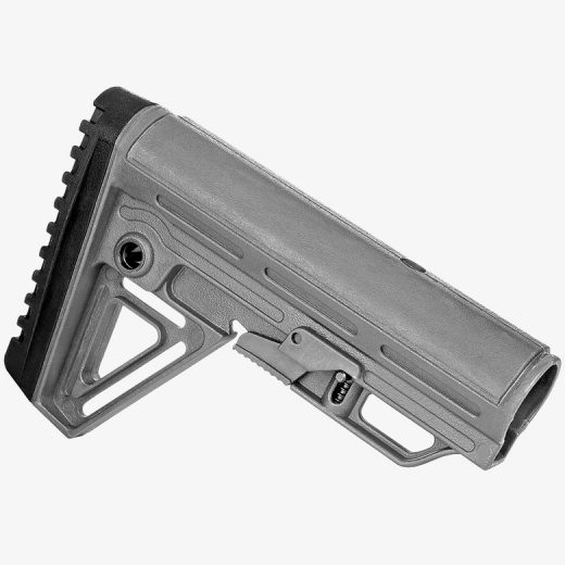 Trinity Force ALPHA Wolf Grey Collapsible AR15 Carbine Stock