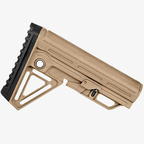 Trinity ALPHA Sand Tan Complete Collapsible AR15 Stock Kit