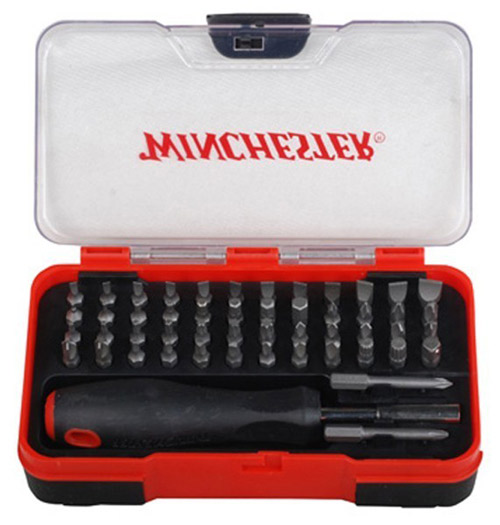 Winchester 51 Piece Gunsmith Screwdriver Kit With Storage Case
