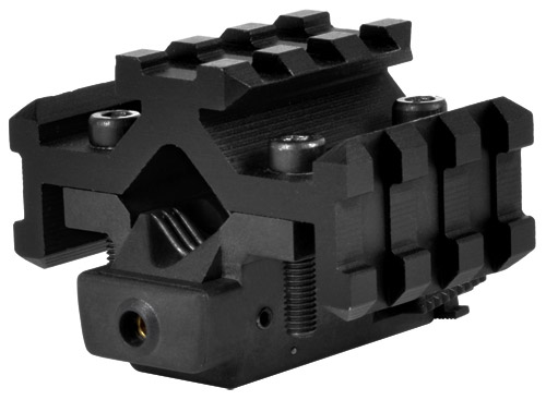 NcStar TriRail Barrel Mount w/ Integral Red Laser Aiming Sight