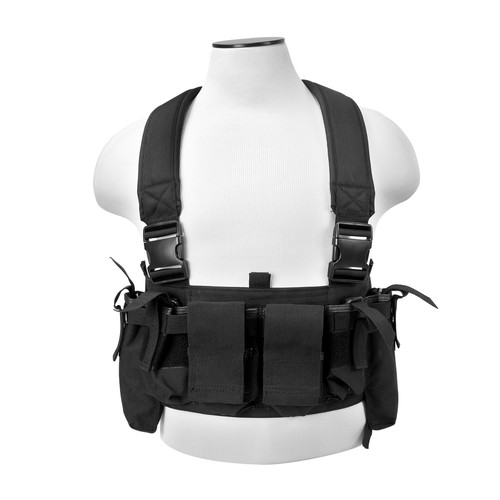 Ultimate Tactical Multy Pouch Chest Rig For AR15 M4 Rifles