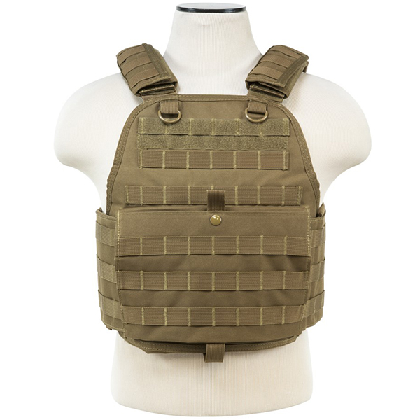 VISM MOLLE Tactical Plate Carrier Chest Rig Sz Large / X-Large