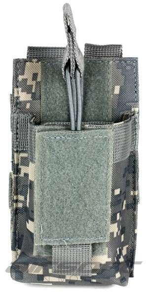 Tactical Molle Style HT Handheld Ham Radio Pouch