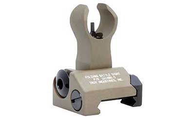 Troy BattleSight Front HK Folding - Flat Dark Earth