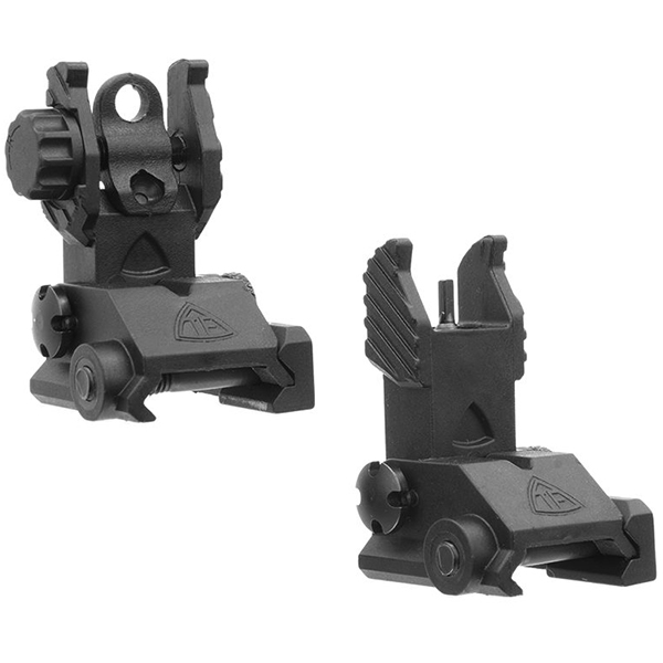 Trinity Force Front + Rear Folding Polymer Aiming Sight Set