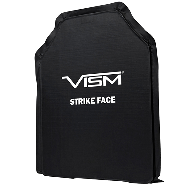 VISM Lightweight 11x14 Soft Ballistic Panel IIIA Shooters Cut