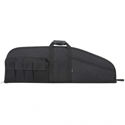"Allen Tactical Black 42"" Rifle Case With 6 Mag Pouches"