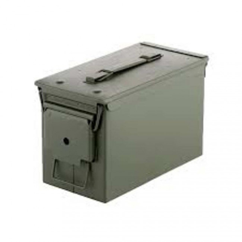 Blackhawk 50 Caliber Steel Ammo Storage Can - OD Green