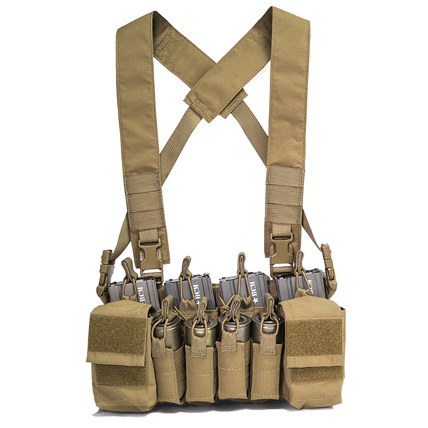 Haley Strategic D3CRX Coyote Disruptive Environments Chest Rig X