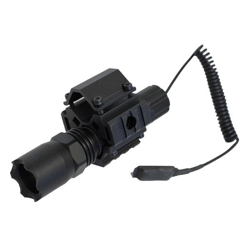Shotgun Combo #1 - TriRail Mount + 160 Lumens Strobe Flashlight - Click Image to Close
