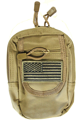 MOLLE Compatible CCW Utility Pouch fits Sub Compact Pistols