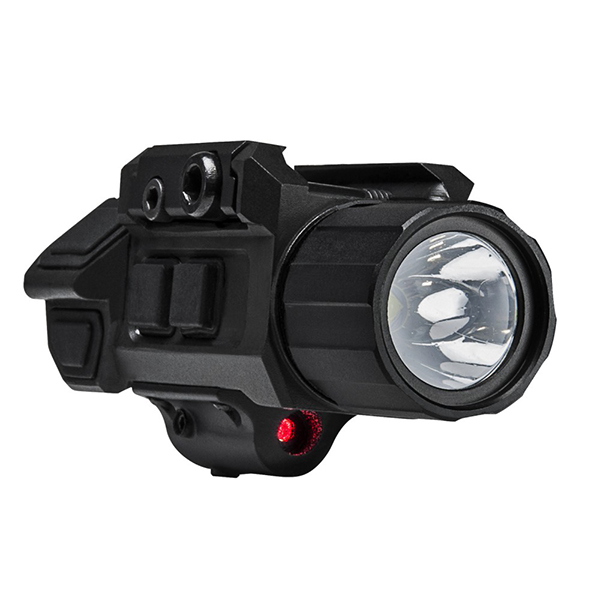 VISM Tactical LED Weapon Light With Integral Red Laser Sight
