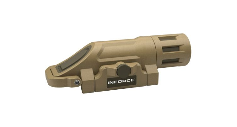 Haley Strategic Partners INFORCE Tan Weapon Mounted Flashlight