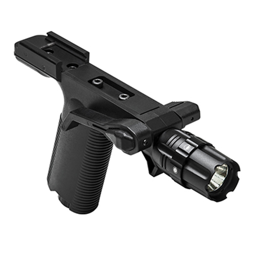 VISM Tactical Vertical Grip w/ LED Flashlight + Picatinny Mount