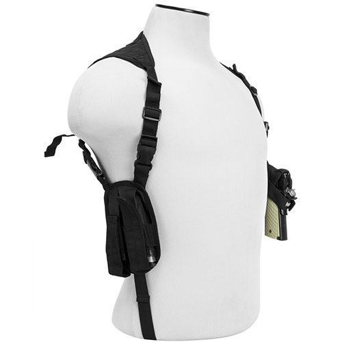 LOT OF 10 - NcSTAR Univeral Fit Pistol Shoulder Holster
