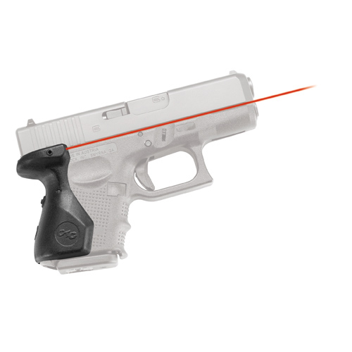 Crimson Trace Glock 4th Generation Sub Compact Laser Grip, Rear