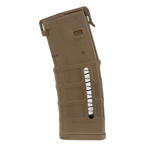 5 Pack - MAGPUL Window PMAG M3 AR15 5.56 30rd MCT Magazine
