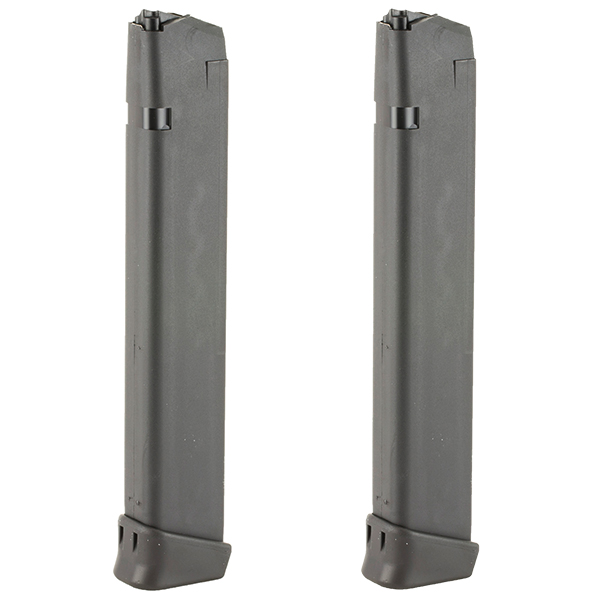 2 Pack - GLOCK 33RD OEM 9mm Magazine for 17 19 19X 26 34 Pistols