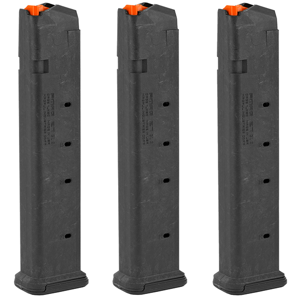 3 Pack MAGPUL PMAG 9mm 27rd Magazines for GLOCK G17 G19 Pistols