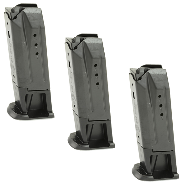 3 Pack - Ruger 10rd 9mm Magazine for SR9 9C 9E and PC Carbine