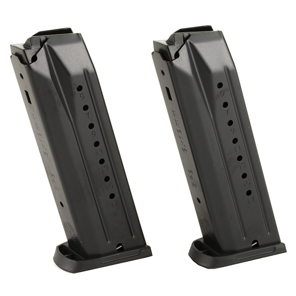 2 Pack - Ruger 17rd 9mm Magazine for SR9 9C 9E and PC Carbine
