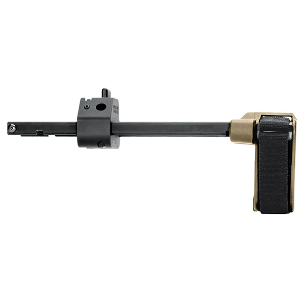 SB-Tactical FDE PDW Pistol Stabilizing Brace for CZ Scorpion EVO
