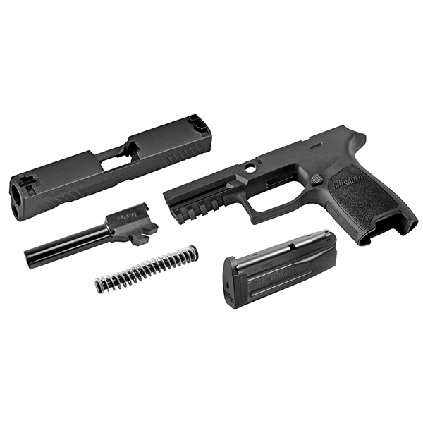 SIG SAUER CAL-X Caliber Exchange Kit P320 Carry 9mm 17rd Black