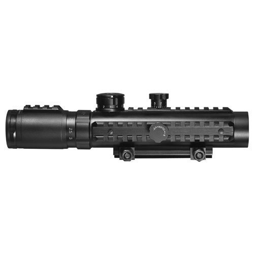Barska 1-3x30 Tactical Trirail Electro Sight fits Weaver Rails
