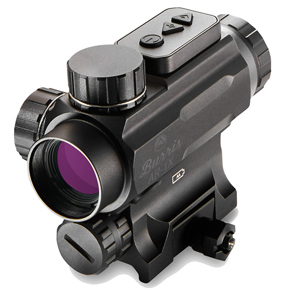 Burris AR-1X Ballistic Reticle Red Green Dot Tactical Sight