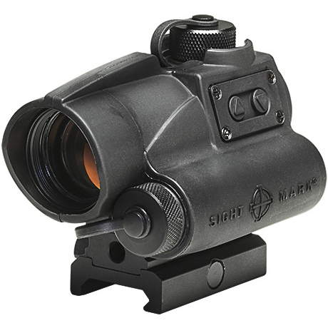 Sightmark Wolverine 1x23 CSR Red Dot Sight - Black Color