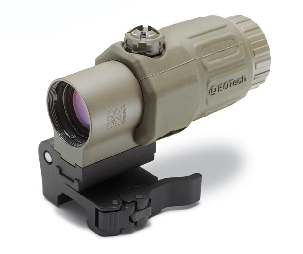 EOTech G33.STS Tactical Optic 3x Magnifier - Tan Color