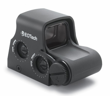 EOTech XPS2-1 Tactical Compact Holographic Sight 1 MOA Dot