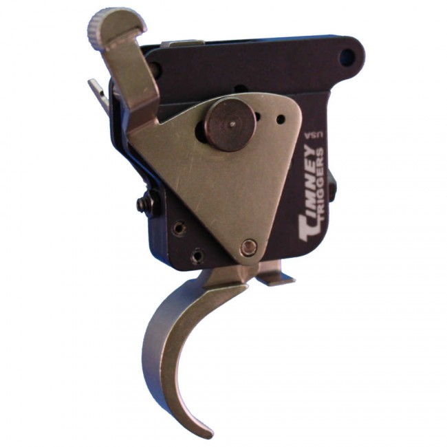 Timney Trigger for Remington 700 with Safety - Nickel Plated