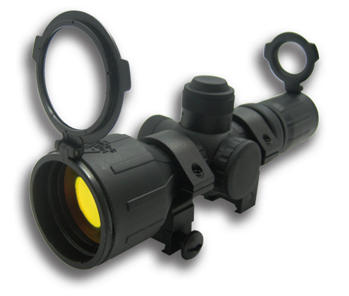NcStar Rubber Armored Dual illuminated 3-9x42 Compact Scope