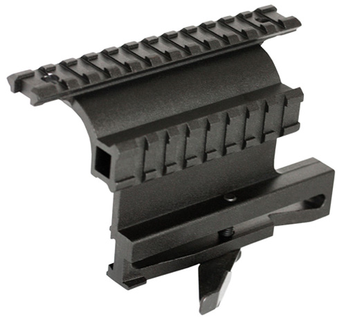 Tactical Dual Rail Quick Detach AK47 & Saiga Scope Mount