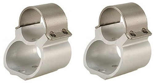 "USA Made - Weaver Stainless Steel 1"" Scope Rings For Ruger 10/22"